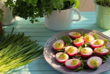 Töltött tojás - Akár Húsvétra is