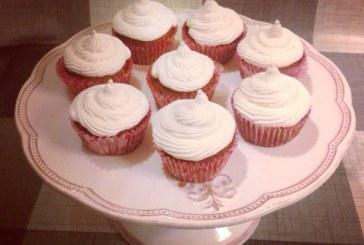 Kókuszos muffin mascarponekrémmel