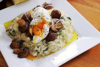 fincsi ebéd 1/2 óra alatt - Zöldséges, gombás rizotto
