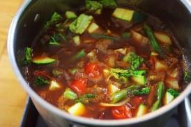 Nyári minestrone leves – recept