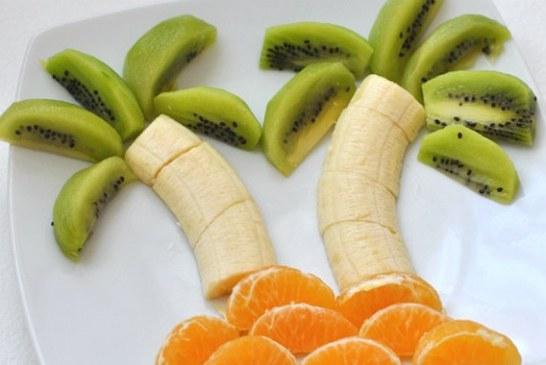 5 perces cukiság a tányéron - Pálmafák gyümölcsből