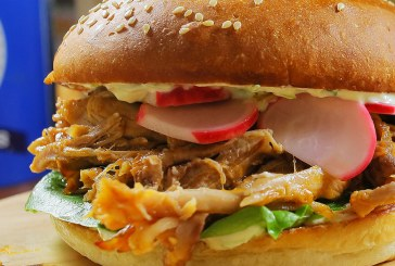 Pulled pork szendvics – Wasabis tormakrémmel, recept