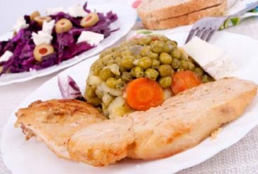 Gordon Ramsay féle - Gyöngytyúk borsós-saláta fricassée-val