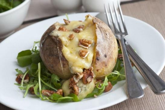 Sajttal töltött egybesült krumpli - Ennél egyszerűbb recept talán nincs is