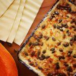 Sütőtökös lasagne, recept
