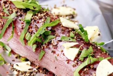Illatos és szaftos ebéd 25 perc alatt ! – Fűszerkéregben sült szűzpecsenye
