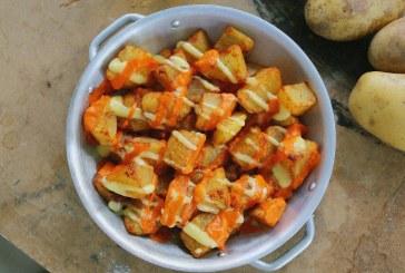 Egy klasszikus Spanyol tapas -  Patatas bravas