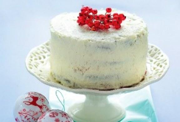 Last minute cukrászat: sütik 1 óra alatt –  Vörös áfonyás-kókuszkrémes torta
