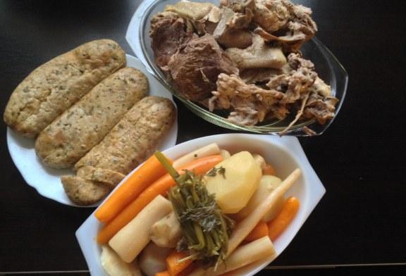 Hétvégére főztem NEKTEK: Zempléni Aranysárga - Húsleves töltelékkel