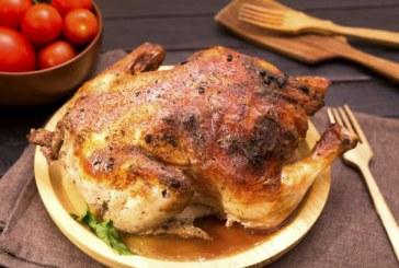Egészben sült Csirke recept - Kívül ropogós, belül omlós és vaj puha