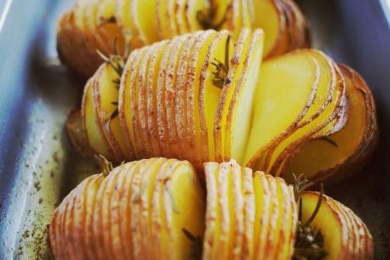 Hasselback krumpli, recept