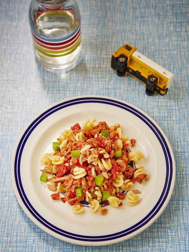 Tonhalas tészta Jamie Oliver