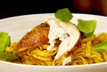 Jamie Oliver féle - Mennyei Mediterrán sült csirke tésztával; recept és videó
