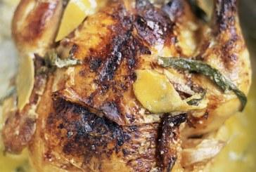 Jamie Oliver - Tejben sült egész Csirke