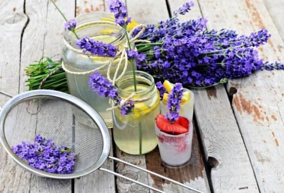 Levendulás limonádé - recept