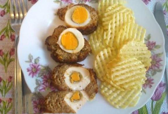 Gyerek barát recept: Napocska szelet hullámos chips-szel