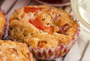 Pizza muffinsütőben