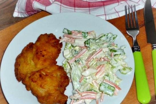 Rántott hús krumplibundában - Köret sem kell hozzá