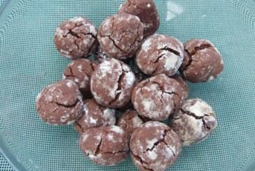 Csokoládés-gyömbéres keksz