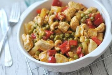 Édes-savanyú csirke, recept