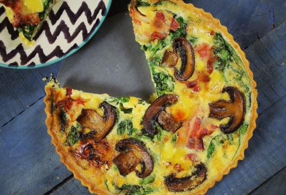 """Quiche ( francia """"pizza"""") – recept"""
