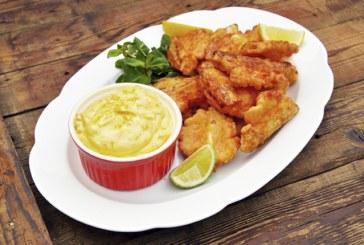 Sörtésztában sült spárga - Citromos, fokhagymás majonézzel (aioli)