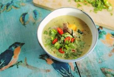 Thai zöld curry leves, recept