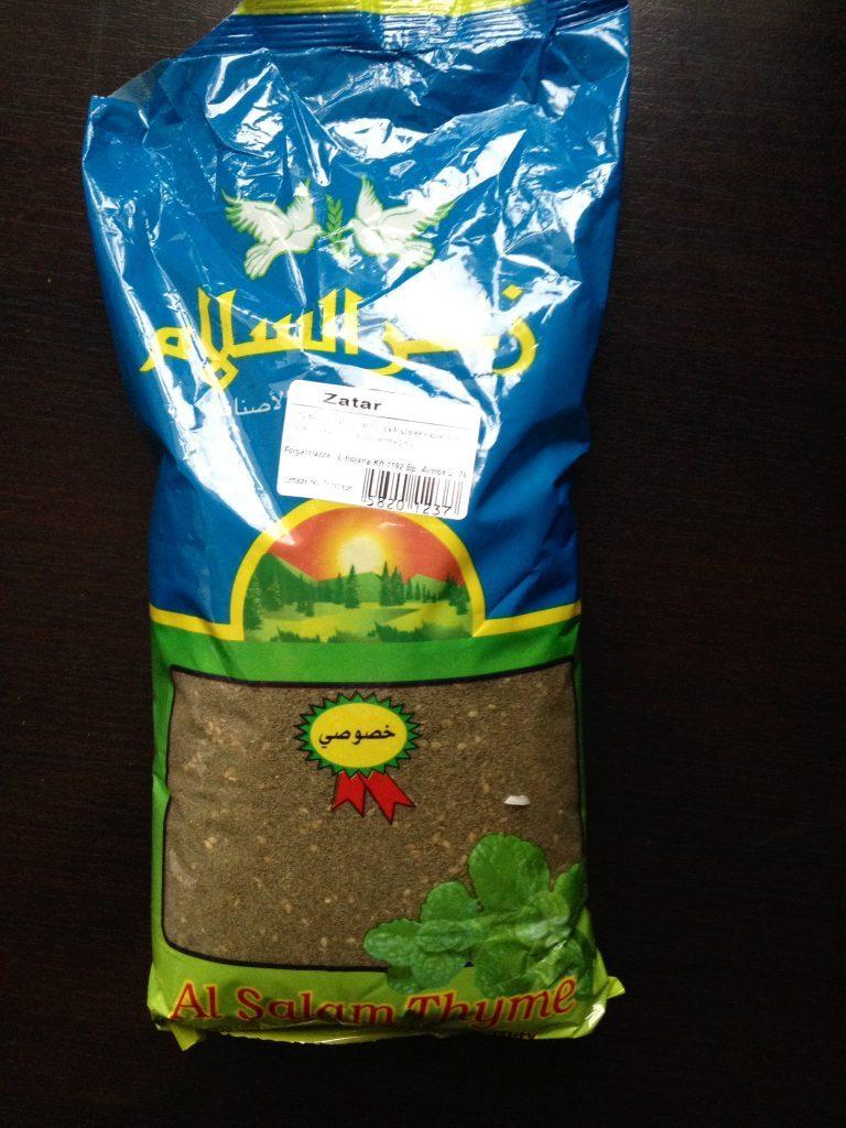 zaatar fűszerkeverék