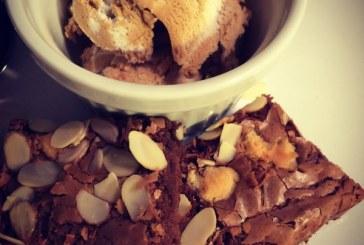 30 perces marcipános - BROWNIE karamell fagyival