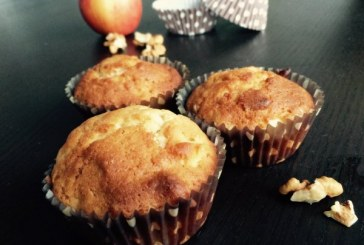 30 perc alatt! - Almás-diós muffin, recept