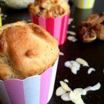 Marcipános muffin fügével megbolondítva