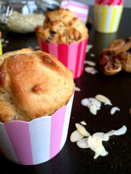 Marcipános muffin fügével