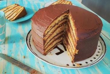 Óriási csokitorta - recept