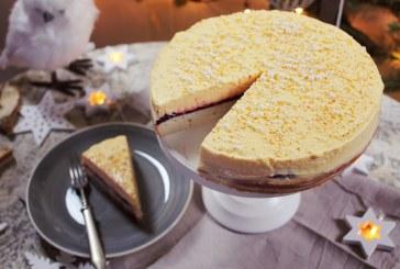 Ünnepi pezsgőkrémes torta – recept