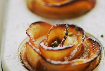 Látványos és finom: almarózsa- recept