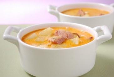 Csülkös krumplileves gazdagon - recept