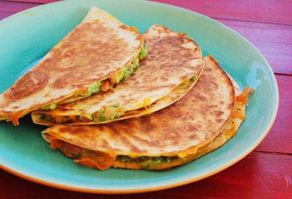 Guacamole tortilla (2 fő részére) recept