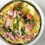 Bögrés omlett friss petrezselyemmel – recept