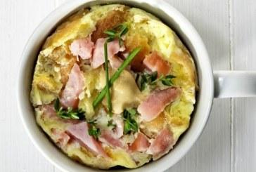 Bögrés omlett friss petrezselyemmel - recept