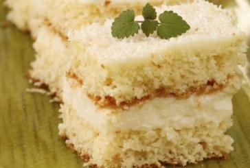 30 perces – A család kedvence: krémes, kókuszos vaníliaszelet