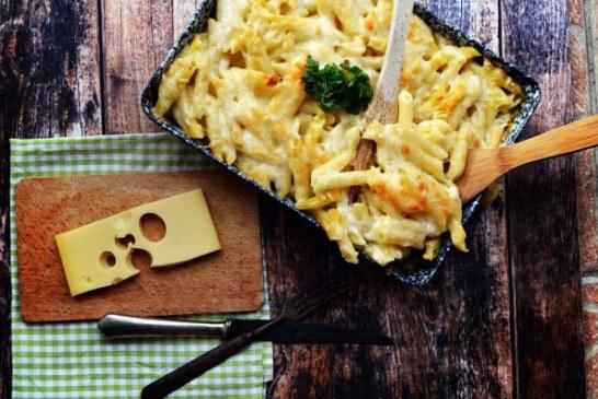 Tepsis,sajtos Bögrés makaróni – gyorsan finomat - recept