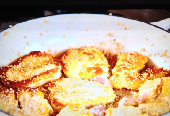 Jamie Oliver grillezett Halloumi sajt , recept