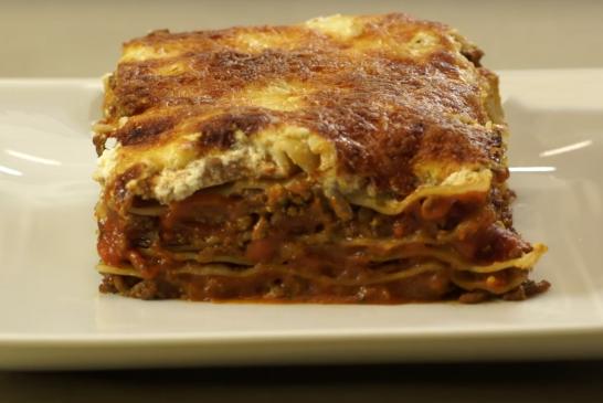 40 perces, gyors Lasagne - recept