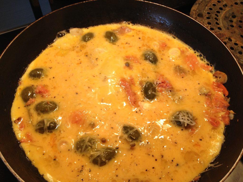zseniális reggeli omlett füstölt lazac