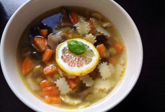 Gyors tavaszi leves gombával - recept