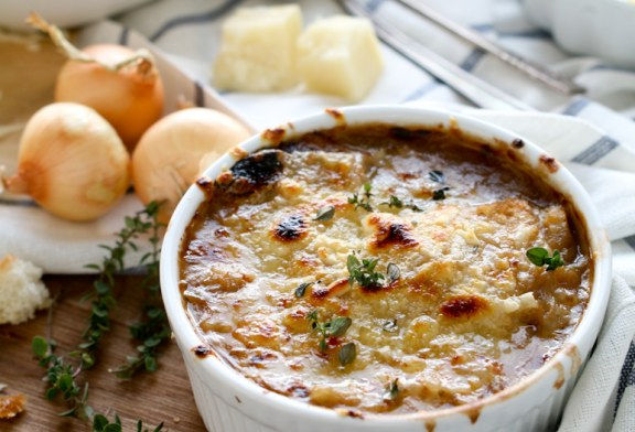 Klasszikus Francia hagymaleves - recept