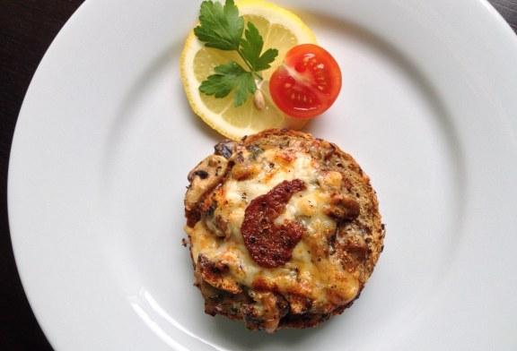 Crock Champignon - Gyors Gombás melegszendvics recept