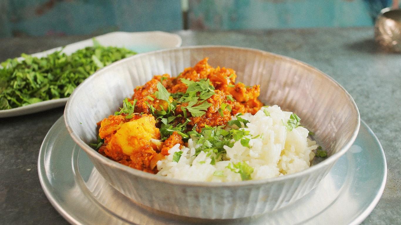 Indiai hal curry