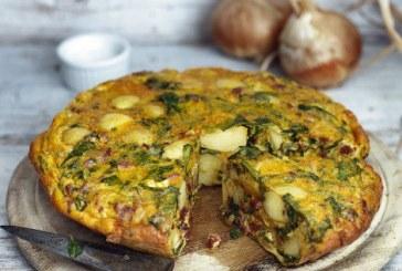Raymond Blanc: újburgonyás és Chorizós tortilla - recept