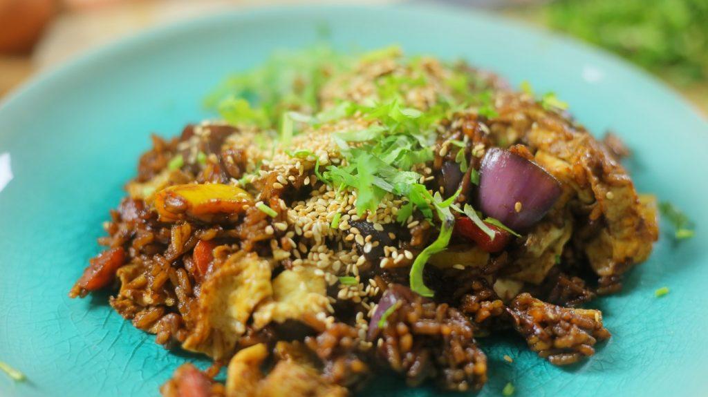 Ázsiai pirított rizs